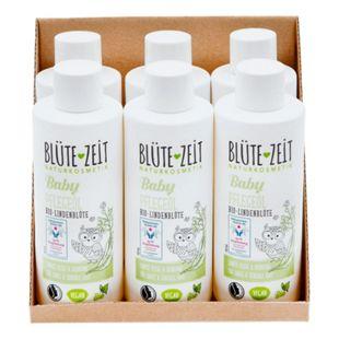 BLÜTE-ZEIT BABY Pflegeöl Bio-Lindenblüte 200 ml, 6er Pack - Bild 1
