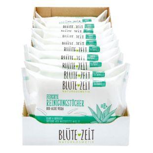 BLÜTE-ZEIT Reinigungstücher Aloe-Vera 25 ST, 10er Pack - Bild 1