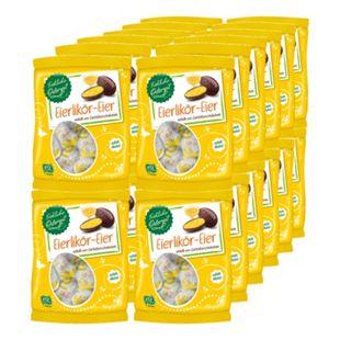 Fröhliche Osterzeit Eierliköreier 150 g, 24er Pack - Bild 1