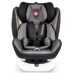 Lionelo Bastiaan Auto Kindersitz mit Isofix in grau schwarz - Bild 1