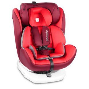 Lionelo Bastiaan Auto Kindersitz mit Isofix in rot - Bild 1