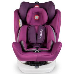 Lionelo Bastiaan Auto Kindersitz mit Isofix in violett - Bild 1