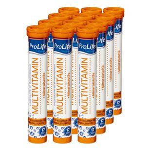 ProLife Brausetabletten Multivitamin 102 g, 12er Pack - Bild 1