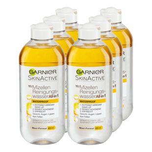 Garnier Skin Active Mizellenwasser All-in-One 400 ml, 6er Pack - Bild 1