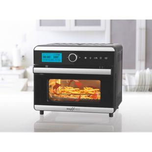 MAXXMEE Heißluft-Ofen Digital 18l 1500W schwarz/Edelstahl - Bild 1