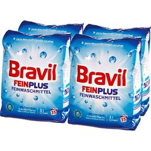 Bravil Feinwaschmittel Pulver 35 Waschladungen, 4er Pack - Bild 1