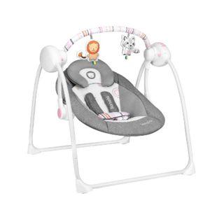 Lionelo Ruben pink Babyschaukel /Babywippe mit Moskitonetz 0-12 kg - Bild 1