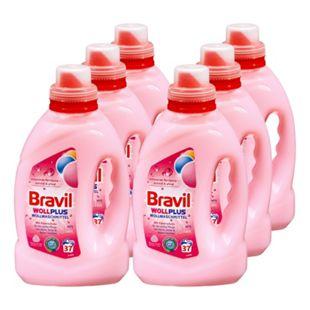 Bravil Wollwaschmittel 37 Waschladungen, 6er Pack - Bild 1