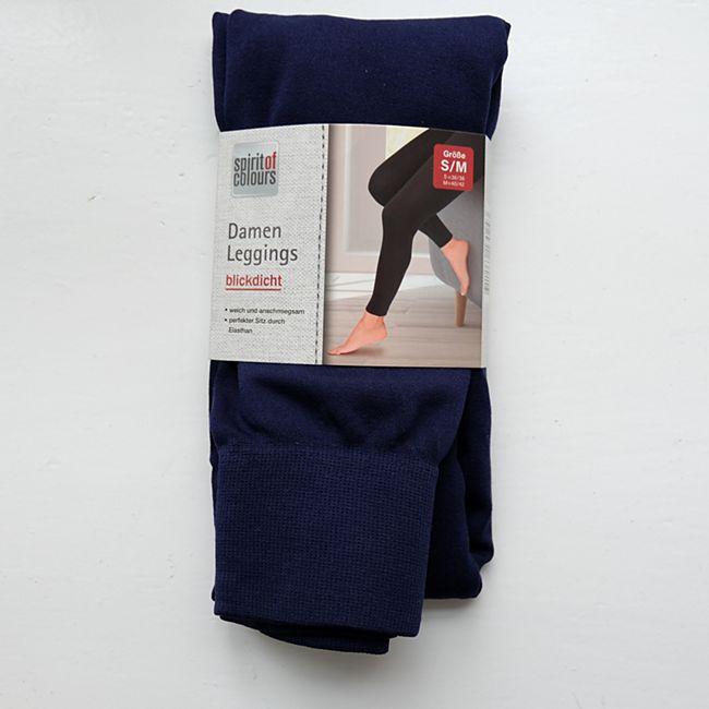 Damen-Legging marine Gr. L/XL - Bild 1