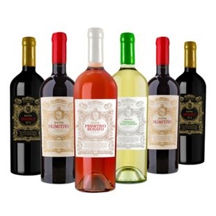 EVITA Weinpaket 6 Flaschen 11,5 - 13,0 % vol je 0,75 Liter - Bild 1
