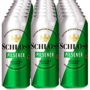 Schloss Pilsener 4,9 % vol 0,5 Liter Dose, 18er Pack - Bild 1
