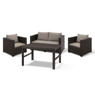 Keter Lounge Set London braun / cappuccino - Bild 1