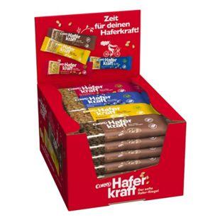 Corny Haferkraft Mixbox, verschiedene Sorten, 24 Riegel x 65 g - Bild 1