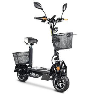 Rolektro, E-Joy Elektro-Scooter 20 Lithium, Schwarz, 36V-20AH Akku, 500 Watt - Bild 1