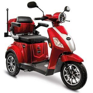 Rolektro, E-Trike 15 V.3 Lithium, Rot, 60-30AH Akku, 1000 Watt - Bild 1