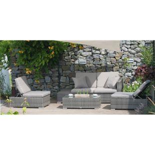 Garden Pleasure Loungegruppe Alcudia, multifunktional - Bild 1