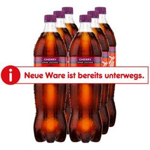 Coca-Cola Zero Cherry 1,25 Liter, 6er Pack - Bild 1