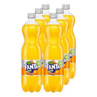 Fanta Orange 1,25 Liter, 6er Pack - Bild 1