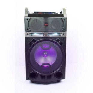 Aiwa KBTUS-700 Karaoke Trolley Party Lautsprecher LED Mikrofone BT Soundsystem - Bild 1