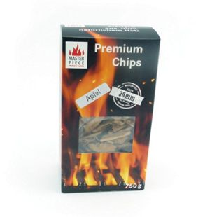 Apfelholz Premium-Räucherchips 30 mm, 6er - Bild 1