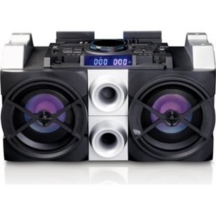 Lenco High-Power-Soundsystem PMX-150 mit Mixfunktion, Bluetooth und Partylichtern - Bild 1