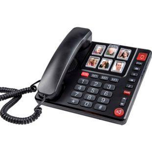 Fysic Schnurgebundenes Telefon FX-3930 mit großen Fototasten und Zahlen - Bild 1