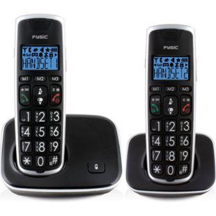 Fysic DECT-Telefon für Senioren FX-6020 mit große Tasten und 2 Mobilteilen - Bild 1