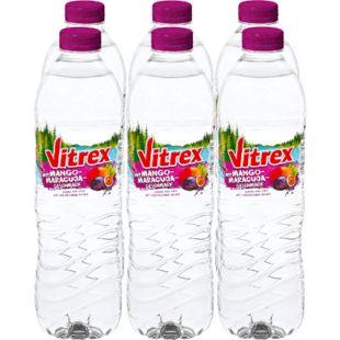 Vitrex Wasser mit Mango-Maracujageschmack 1,5 Liter, 6er Pack - Bild 1
