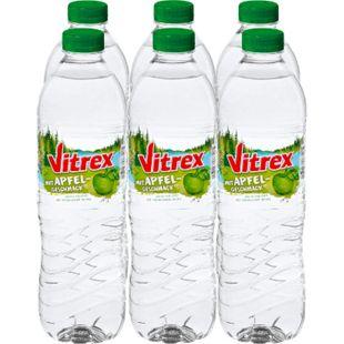 Vitrex Wasser mit Apfelgeschmack 1,5 Liter, 6er Pack - Bild 1