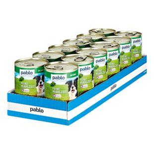 Pablo Hundenahrung Wild 400 g, 12er Pack - Bild 1
