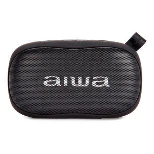Aiwa BS-110BK Mini Bluetooth Lautsprecher mit Karabiner 10W HyperBass Musik Box - Bild 1