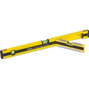 FLÜWA Wasserwaage 60cm schwarz/gelb - Bild 1