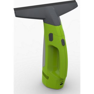 Comag elektrischer Fenstersauger Fensterreiniger inkl. waschbarem Microfaser-Wischbezug + Wischer + Sprühflasche (12W, 3,7V, 1300mAh) grün - Bild 1