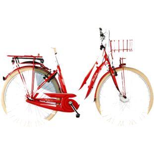 Fischer e-bike Retro 28 Retro 2.0 317 48, rot - Bild 1