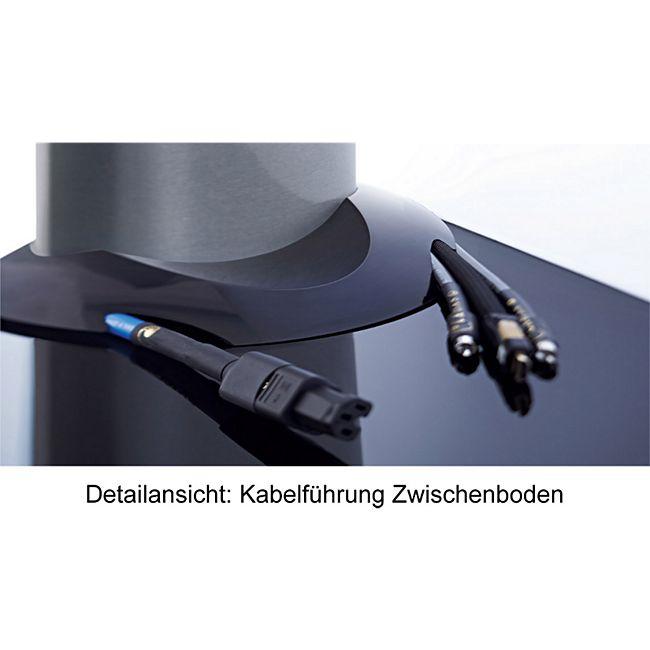 """VCM TV-Rack Lowboard Konsole Fernsehtisch TV Möbel Standfuß Glastisch Tisch Phono """"Amalo Maxi"""" VESA Universal - Bild 1"""