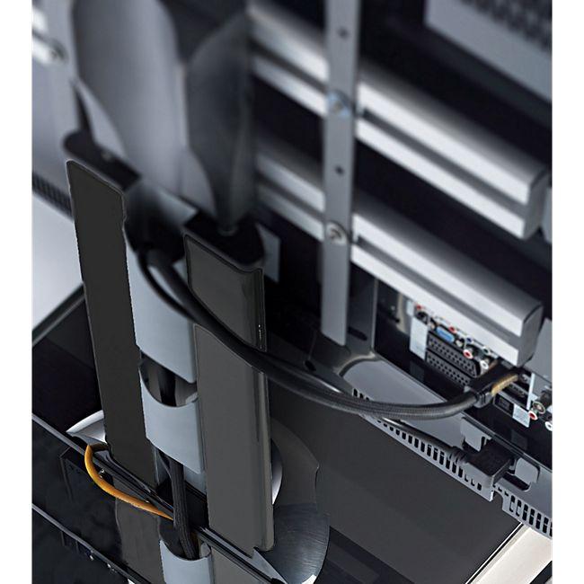 vcm tv standfu led st nder fernseh standfuss alu glas universal stadino mini universell. Black Bedroom Furniture Sets. Home Design Ideas