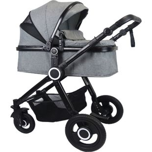 VCM Premium Set 2in1 Kombi - Kinderwagen, gefederter Babywagen Alu Pilosa - Bild 1
