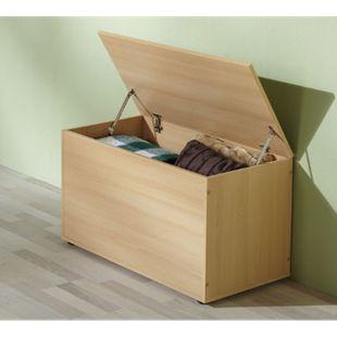 VCM Sitzbank Sitztruhe Aufbewahrungsbox Truhenbank Ottomane Auflagenbox Truhe Krusona - Bild 1