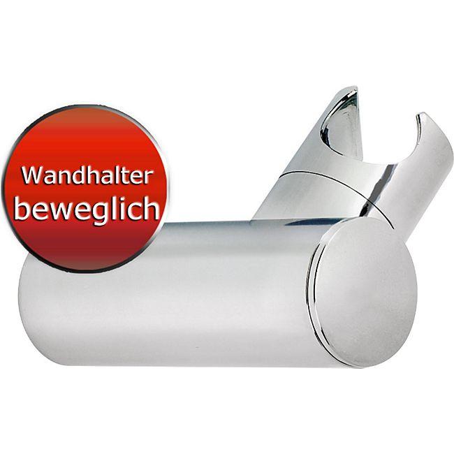 """VCM Wandhalter für Duschkopf Handbrause Brausekopf Halter Halterung beweglich """"Garda"""" - Bild 1"""