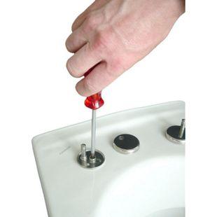 VCM WC Sitz Toilettendeckel Deckel Brille Toilettensitz Klositz Klodeckel Padua Klobrille Klo Toilette - Bild 1