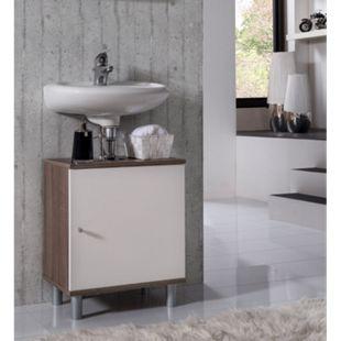 """VCM Bad Unterschrank Waschtisch Waschbecken Badschrank Regal """"Wento"""" 55x45x32 Badezimmer Schrank - Bild 1"""