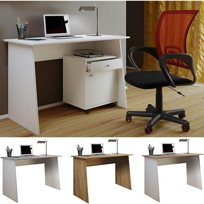 """VCM Schreibtisch Computertisch Arbeitstisch Büromöbel PC Tisch """"Masola Maxi"""" - Bild 1"""