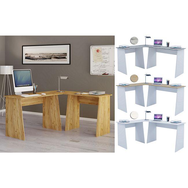 """VCM Eckschreibtisch Schreibtisch Büromöbel Computertisch Winkeltisch Tisch Büro """"Masola"""" - Bild 1"""
