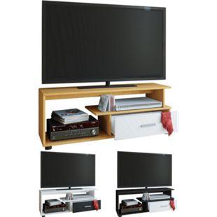"VCM TV-Lowboard Rack Konsole Fernsehtisch Möbel TV Bank Tisch Holz Schrank ""Rimini"" - Bild 1"