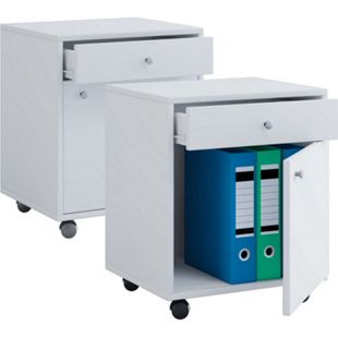 VCM Rollcontainer Bürocontainer Schubladenschrank Büroschrank Schublade Masola - Bild 1