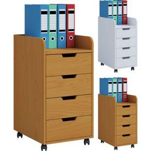 VCM Rollcontainer Bürocontainer Schubladenschrank Büroschrank Schubladen Konal Mini - Bild 1