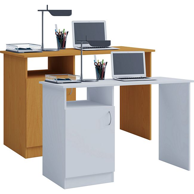 """VCM Schreibtisch Computertisch Arbeitstisch Büro Möbel PC Tisch """"Desas"""" - Bild 1"""