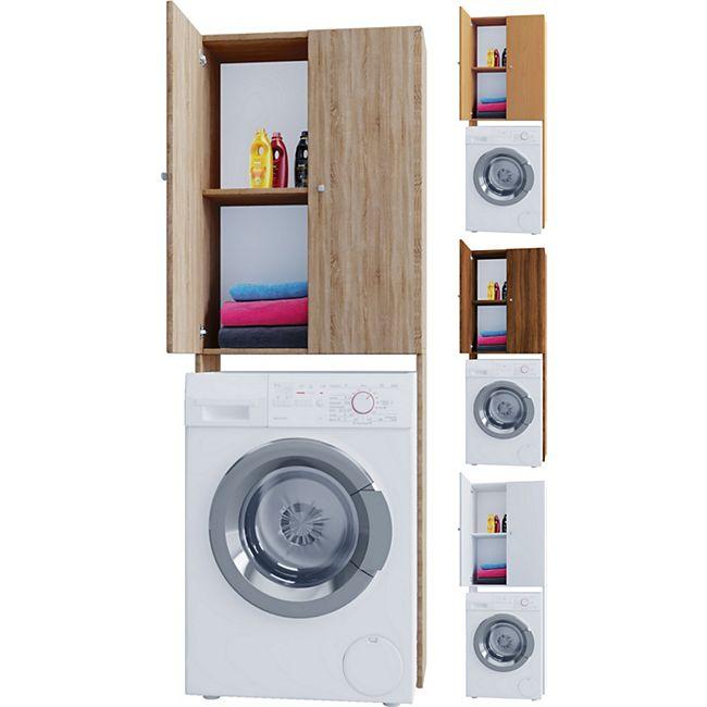 VCM Waschmaschinenschrank Badschrank Hochschrank Badregal Überbau Schrank Vandol Badmöbel Regal - Bild 1