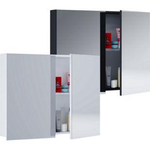 VCM Spiegelschrank Badmöbel Badezimmer Badezimmerschrank Hängeschrank Spiegel Badschrank ´´Tenas´´