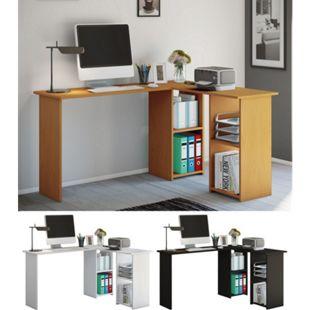 """VCM Eckschreibtisch Schreibtisch Büromöbel Computertisch Winkeltisch Tisch Büro """"Lusias"""" - Bild 1"""